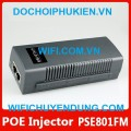 PSE801-FM Switch POE Injector/Switch 2-Port Fast 10/100bps (1-Port PoE to 48V-19W)