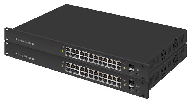 Ubiquiti EdgeSwitch 24-Port PoE Switch 500W (ES-24-500W)
